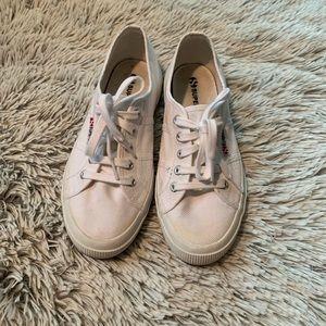 Superga white canvas Cotu sneaker